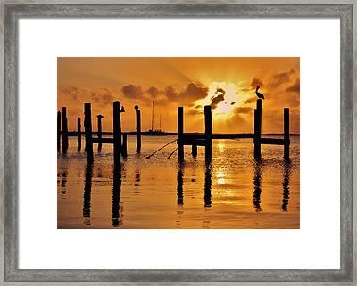 Skyfire Framed Print