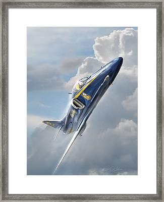 Skyhawk 2 Framed Print by Peter Chilelli