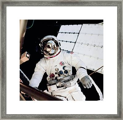 Skylab Spacewalk Framed Print