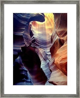 Skylight Framed Print by J Allen