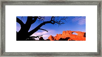 Skyline Arch, Arches National Park Framed Print by Panoramic Images
