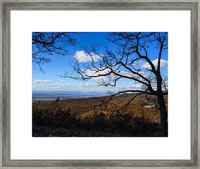Skyline Dr. Framed Print
