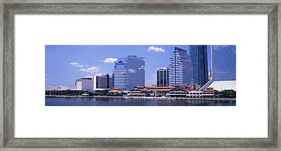 Skyline Jacksonville Fl Usa Framed Print by Panoramic Images