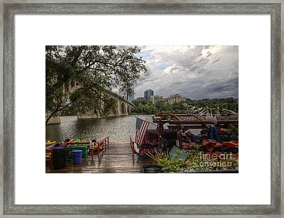 Skyline Framed Print by Kate Mitchem