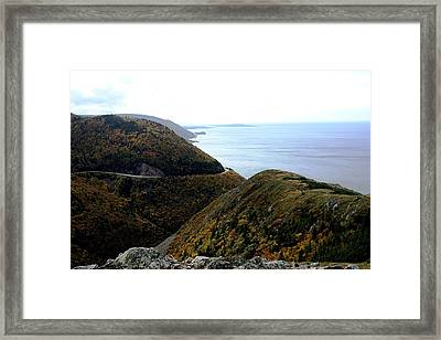 Skyline Trail Framed Print by Jason Lees