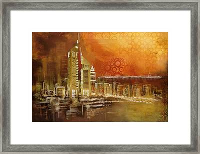Skyline View  Framed Print by Corporate Art Task Force