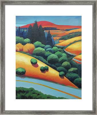 Skyline Vista Framed Print by Gary Coleman