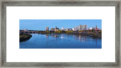 Skylines At Waterfront, South Framed Print by Panoramic Images