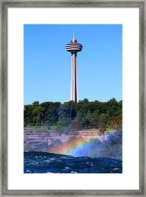 Skylon Tower Niagara Falls Framed Print