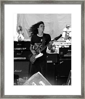 Framed Print featuring the photograph Skynyrd #24 Crop 2 by Ben Upham