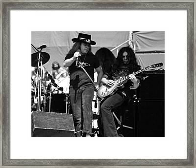 Framed Print featuring the photograph Skynyrd #26 Crop 2 by Ben Upham