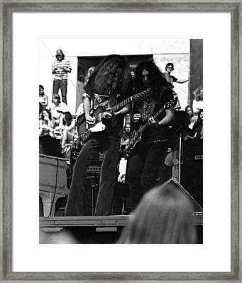 Framed Print featuring the photograph Skynyrd #5 Crop 2 by Ben Upham