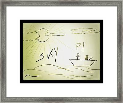 Skype Framed Print by Beto Machado