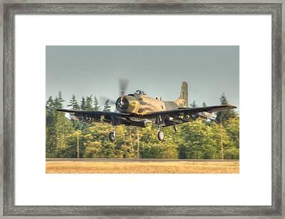Skyraider Framed Print