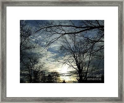 Skyreview Framed Print