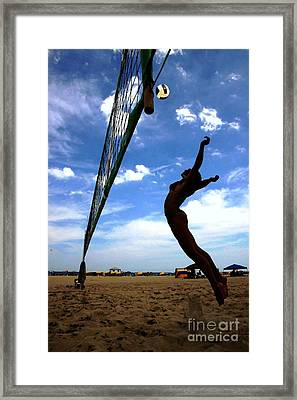 Sky's The Limit Framed Print by Scott Allison