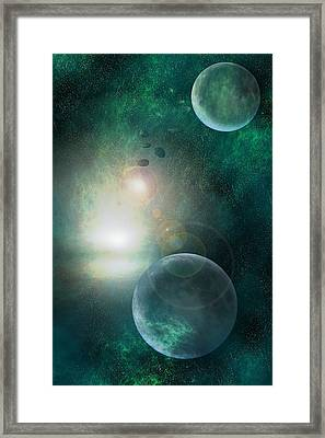 Skyscape Framed Print by Carol and Mike Werner