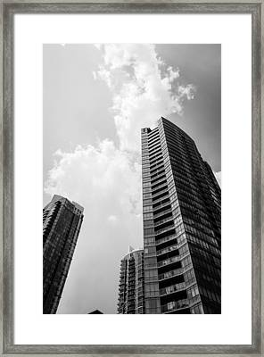 Skyscraper Framed Print by BandC  Photography