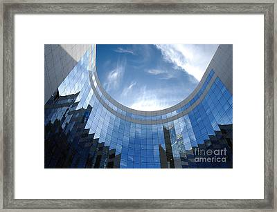 Skyscraper Framed Print by Michal Bednarek