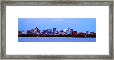 Skyscrapers At The Waterfront, Charles Framed Print by Panoramic Images