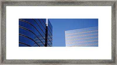 Skyscrapers In A City, Midtown Plaza Framed Print