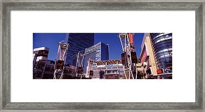 Skyscrapers In A City, Nokia Plaza Framed Print