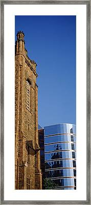 Skyscrapers In A City, Presbyterian Framed Print by Panoramic Images