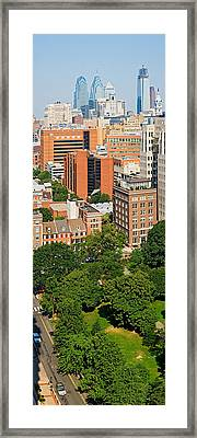 Skyscrapers In A City, Washington Framed Print