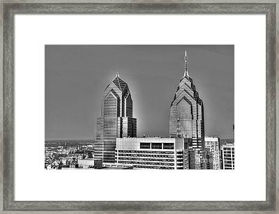 Skyscraping Framed Print by Mark Ayzenberg