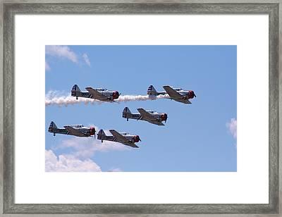 Skytypers Framed Print by Karen Silvestri