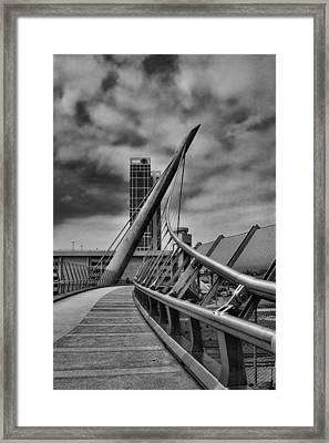 Skywalk Framed Print by Hugh Smith