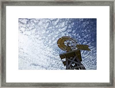 Skyward Framed Print by Erika Weber