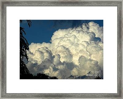 Skyward Sculpture Framed Print