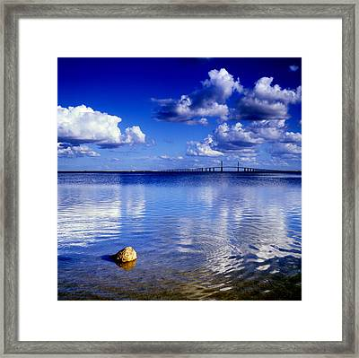 Skyway Bridge Framed Print