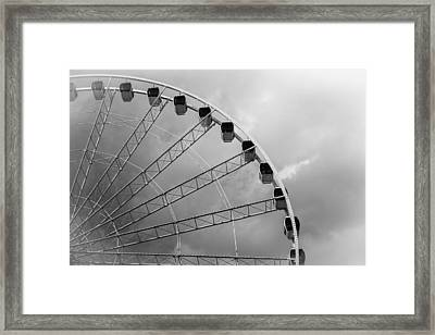 Skywheel Framed Print