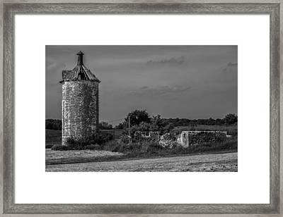 Slabtown Ruins Framed Print