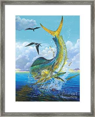 Slammer Off0017 Framed Print by Carey Chen