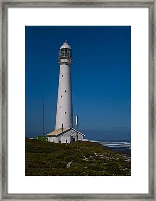 Slangkop Lighthouse Framed Print by Tom Hudson
