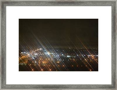 Slanted Light Framed Print by Naomi Berhane