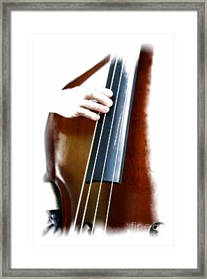 Slappin' The Bass Framed Print