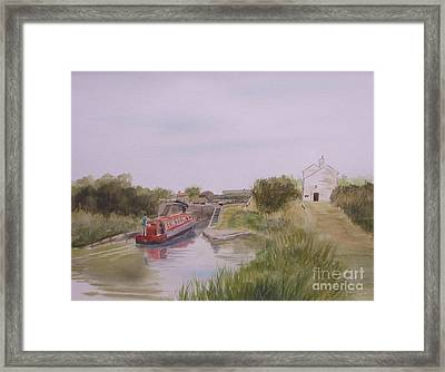 Slapton Lock Framed Print by Martin Howard
