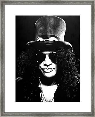 Slash Framed Print by Brian Curran