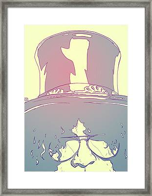 Slash Framed Print by Giuseppe Cristiano
