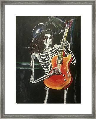 Slash Framed Print by Marisa Belculfine