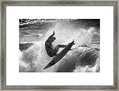 Slash Framed Print by Michele Chiroli