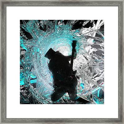 Slash Framed Print by Thomas Bryant