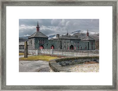 Slate Museum Framed Print by Adrian Evans