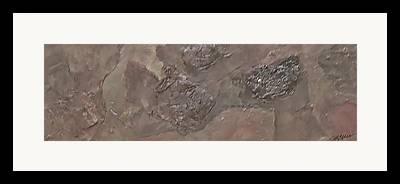 Van Dyke Brown Mixed Media Framed Prints