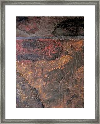 Tile No. 1 Framed Print by Jim Ellis