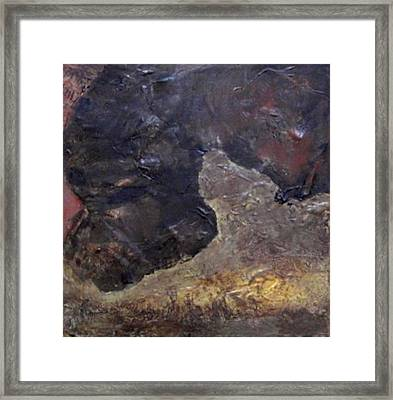 Tile No. 3 Framed Print by Jim Ellis